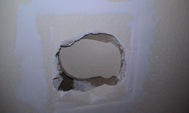 Uitzonderlijk Hoe te repareren van een gat in de muur - cadagile.com MT13