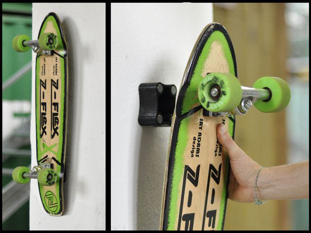 Iets Nieuws Magnetische Skateboard Wall Hanger - cadagile.com #WA86