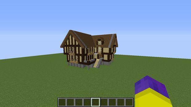 Minecraft mideival huis for Huis maken minecraft