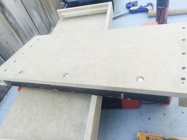 Bar Plank Aan Muur.Geheime Opslag Muur Plank Stap 3 Het Toevoegen Van De Steun