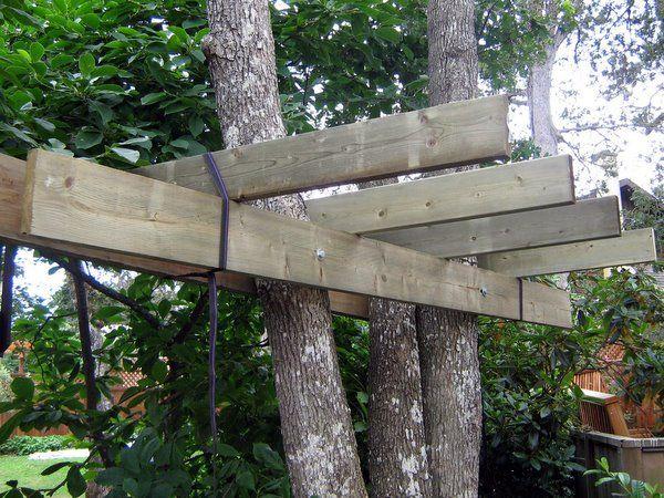Favoriete Hoe te bouwen een boomhut / Stap 7: Het platform bouwen - cadagile.com @HU27