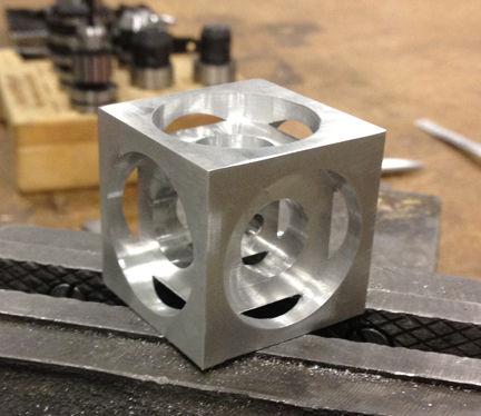Turner S Cube A Beginner Cnc Frezen Project Cadagile Com