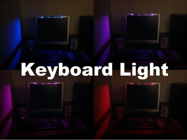 Toetsenbord Met Licht : Fading rgb toetsenbord licht cadagile