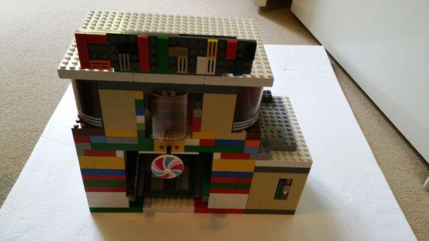 lego skittles machine