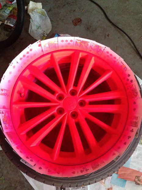 Plasti Dip Velgen Blaze Roze Stap 54 5 Lagen Van