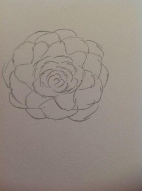 Uitgelezene Mooie bloem tekening (beginners) / Stap 3: #2 cirkel patronen IX-49
