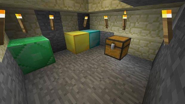 Minecraft geheime kamer onder lava - Deco kamer onder dekking ...
