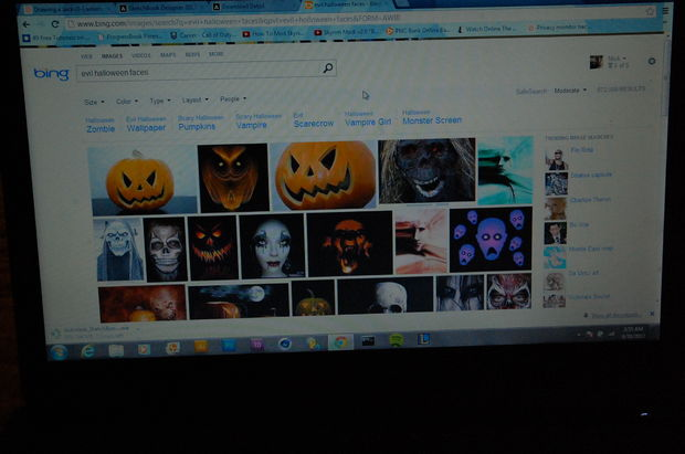 Maak Je Eigen Halloween Tekening Stap 12 Achtergrond