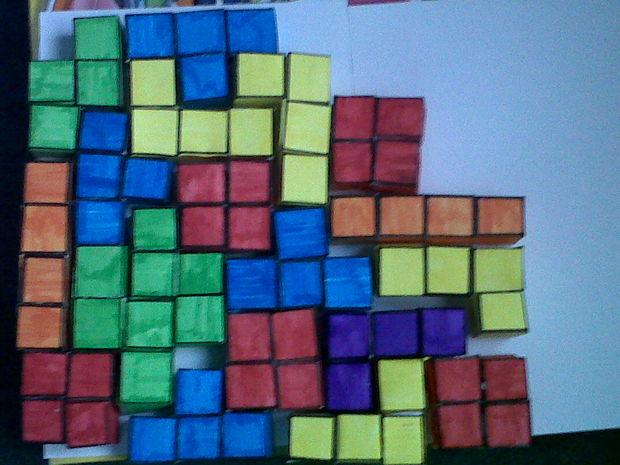 Uw Tetris Puzzle