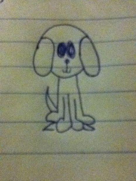 Tekening Van Een Hond Cadagile Com