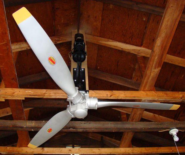 Vliegtuig Propeller Plafondventilator Cadagile Com