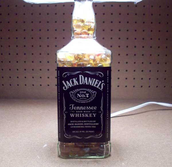 Goede How To Turn een lege Jack Daniels fles in een Lamp - cadagile.com ZB-12