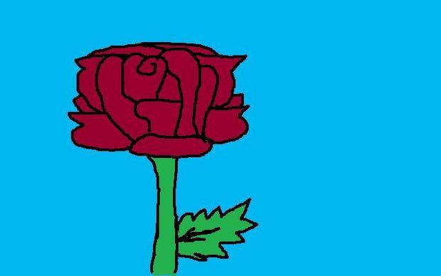 Ongekend Hoe teken je een roos - cadagile.com YU-67