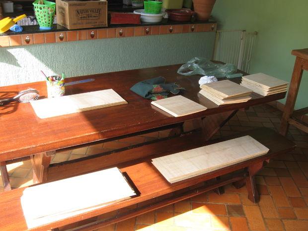Tetris Boek En Andere Spullen Plank