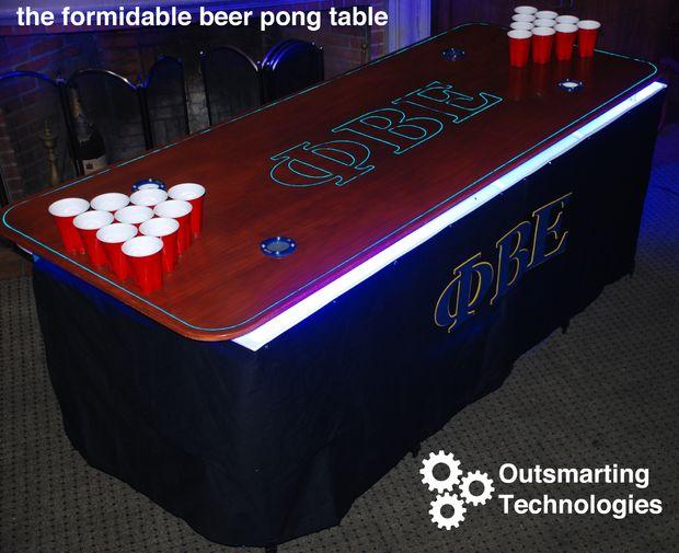 Hoe maak je de beste bier pong tafel op de campus cadagile